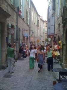 Ambling through the lanes of Pézenas